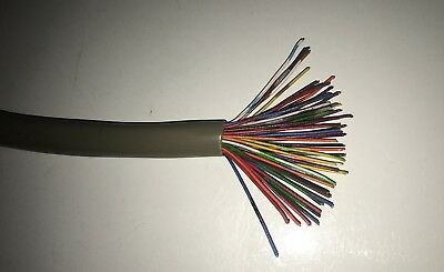 Vintage 50-Conductor Strand Wire 6 Ft. Telephone Wire phone bracelet art craft