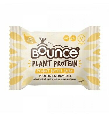 Bounce Plant Protein Peanut Butter Cacao 40g x 12