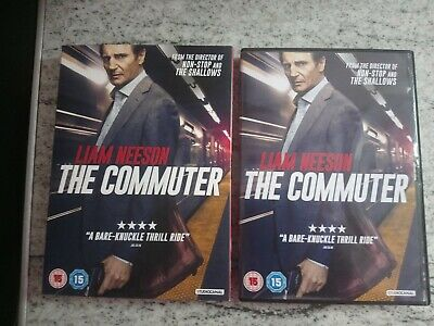 The Commuter (2018) Sleeved Edition [DVD - Region 2] - Mint