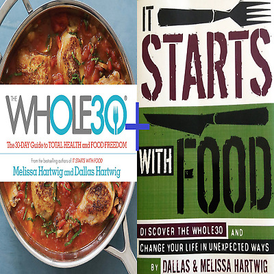 🍴The Whole30 + It All Starts With Food by Melissa & Dallas Hartwig PDF KINDLE