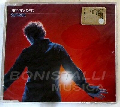 SIMPLY RED - SUNRISE - CD Maxi Enhanced Sigillato
