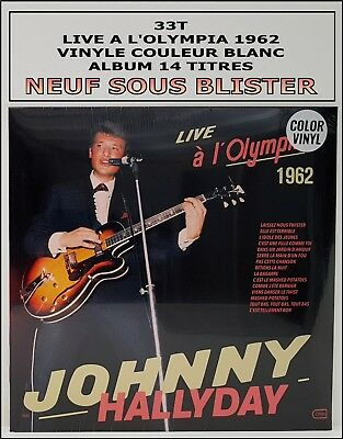 Johnny Hallyday 33T Neuf Sous Blister - Live A L'olympia 1962 - Rare