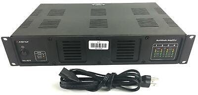 Ashly TRA-4075 Rackmounted 4-Channel 4 Ohms, 70V and 100V Power Amplifier #12654