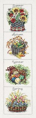 Janlynn Seasonal Baskets Counted Cross Stitch Kit - NEW - RRP £29.99