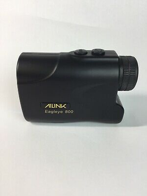 AILINK 800 Yard Rangefinder Eagle Eye Laser for Hunting Golf Archery Black