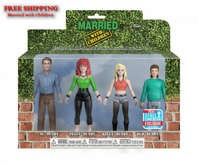 POP! Married with Children Action Figure 4 Pack NYCC Exclusive