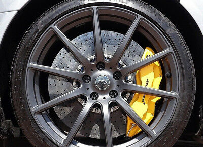 Mclaren Ceramic Brake Calipars Ccm F+R - Yellow - 540/ 570/ Mp4 / 650S / 675Lt