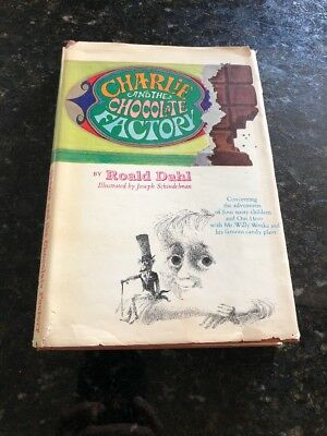 Charlie And The Chocolate Factory ~Roald Dahl~ First American Edition~ 1964