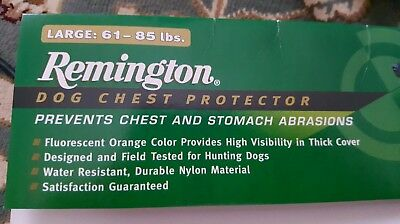 f996f3913d169 Dog Hunting Chest Stomach Protector size Large, 61 to 85# Remington R1900