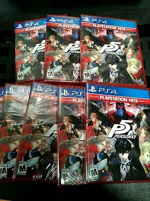 Persona 5 (PS4) (Playstation Hits) Brand New (Factory Sealed)