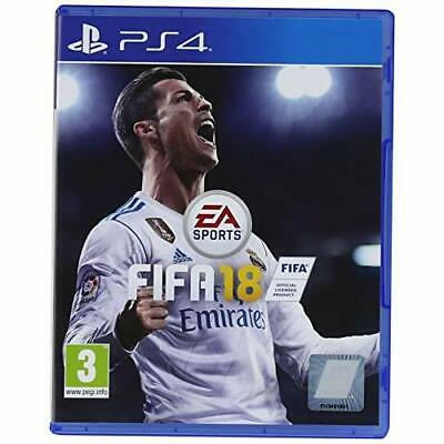 FIFA 18 Standard Edition For PlayStation 4 PS4 Soccer Game Only 8E