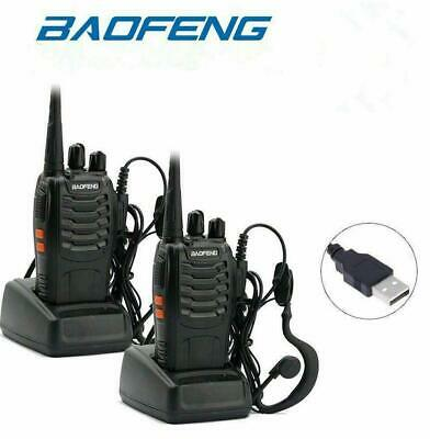 12XBaofeng BF888S 400-470MHz 5W CTCSS Dual-Band Two-way Ham Radio Walkie TalkieG