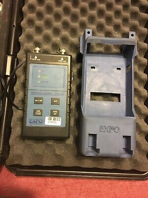 EXFO FOS-120A FIBEROPTIC SOURCE TESTER USED Comes With Everything Shown