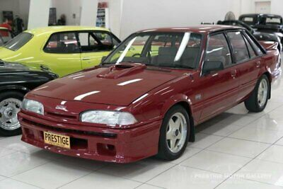 1986 Holden HDT Commodore SS VL Group A Permanent Red Manual 4sp M Sedan