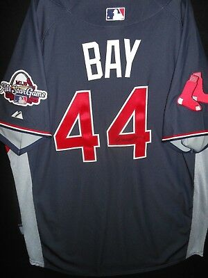 ee31bdeff18 Jason Bay Signed 2009 All Star Jersey Authentic Majestic Boston Red Sox -  Rare!