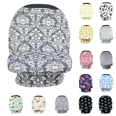 Materity Top CarSeat Cover Canopy Nursing Cover Crib Doll Stroller Cover Canopy