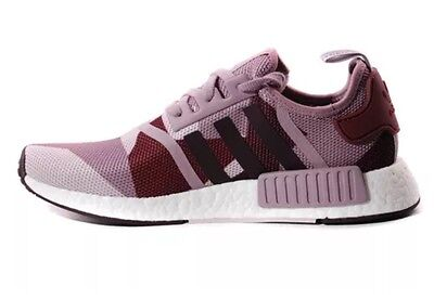 c4d8fcf953a81 Wmns Adidas NMD Nomad Runner Purple Pink Camo S75721 Burgundy W Blanch  Night 5.5