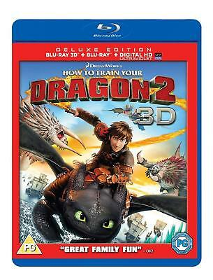 How to Train Your Dragon 2 [Blu-ray 3D + Blu-ray + Digital HD] by 20th Century