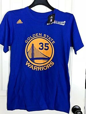 16898558b74 Adidas Kevin Durant  35 Golden State Warriors NBA Youth Player T-Shirt S