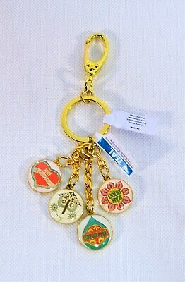 Disney Parks Exclusive 2019 Its A Small World Dangle Keychain BRAND NEW CUTE