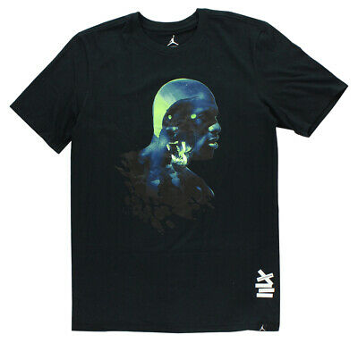 5c2aa5a6b6e NEW 833952-010 AIR JORDAN XIII BLACK CAT MENS T-Shirt!! BLACK ...
