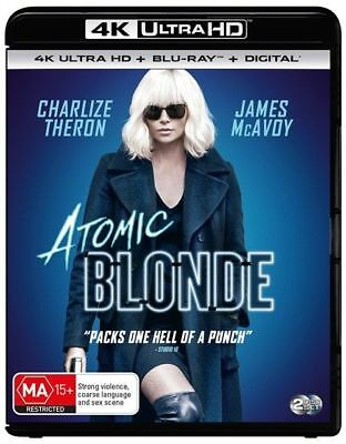 Atomic Blonde 4K Blu-Ray UHD : NEW 4K Ultra HD