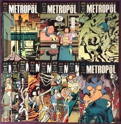 Metropol #1 to #12 plus Metropol A.D #1 to #3 complete (Epic 1991) 15 issues.