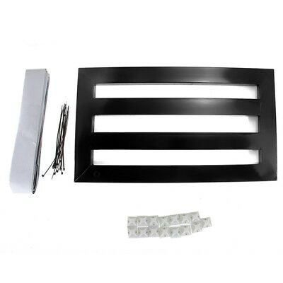 Guitar Effects Pedalboard Aluminum Pedal Board with Magic Cable Straps Ties Y3B3