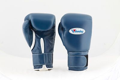 Winning Boxing Gloves Tape Pro Type MS 200B 8 oz Handcrafted in Japan Black