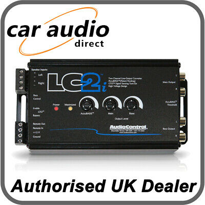 AudioControl LC2i 2 Channel Line Processor Convertor Main and Subwoofer Output