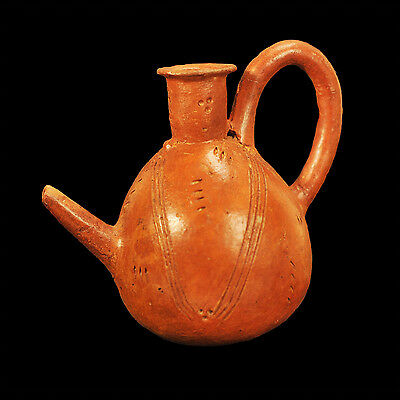 Aphrodite- Ancient Cypriot Spouted Pottery Jug