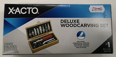 X-ACTO Deluxe Woodcarving Set (X5175)