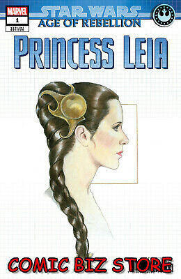Star Wars Aor Princess Leia #1 (2019) 1St Print Concept Design Variant Low Price