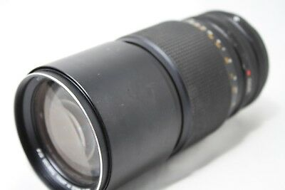 Konica Hexanon AR 200mm 1:3.5 Lens *As Is* #is009c