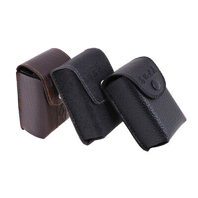 Unisex Glasses Box Folding Protective Faux Leather Storage Portable Bag ^S