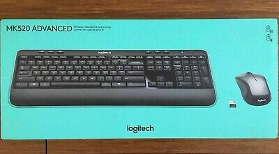 37a0a4fab17 Logitech MK520 Wireless Keyboard and Mouse Combo 2.4Ghz | Long Life |Brand  New