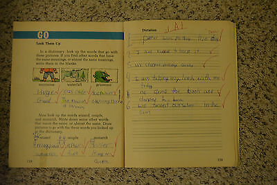 Drew Barrymore Rare Child Actor Math And Language Workbooks Signed