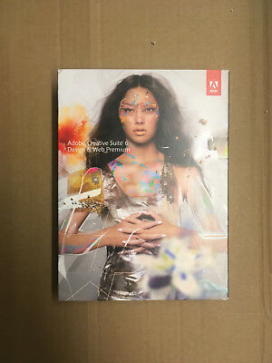 Adobe Creative Suite CS6 Design & Web Premium MAC deutsch Voll MWST BOX
