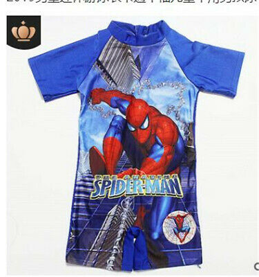 Baby Kids Boys One Piece Swimsuit Swimming Swim Sun Safe Costume Beach Surf Suit
