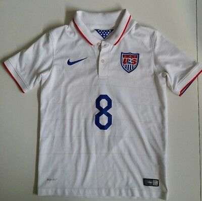 d251ab45a Clint Dempsey US Soccer Nike Authentic Jersey 2014 USMNT world cup Youth  Small 8