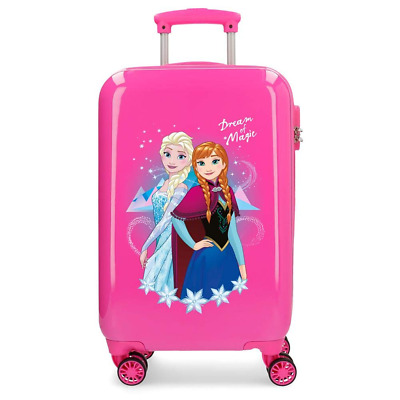 c654d5cb2e Trolley Frozen Elsa Anna Disney Dream Of Magic Da Viaggio Cm. 55X34X20 In  Abs -