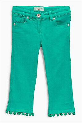NEXT Girls Pink Cropped Flare Jeans Age 12 Years BNWT