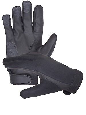 Neoprene Police Search Shooting Tactical gloves