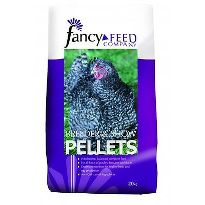 Fancy Feed Conditioning Breeder & Show Pellets