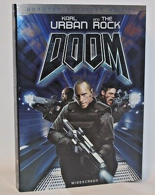 The Rock and Karl Urban in Doom Widescreen unrated extended edition DVD