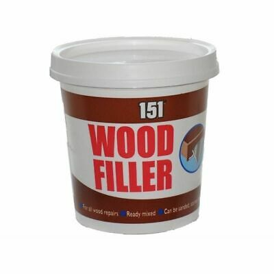 Wood Filler Ready Mixed For All Wood Repairs Can Be Sanded Painted 600g Tub