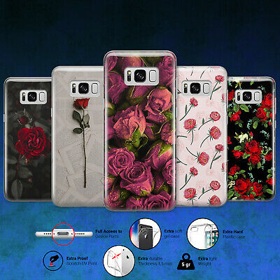 ROSE FLOWER COOL DESIGN PHONE CASE COVER for Samsung