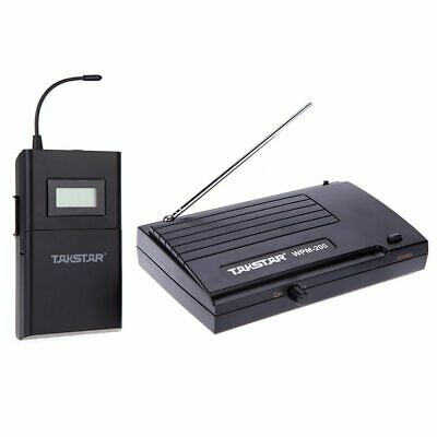 Takstar WPM-200 UHF Stage Wireless Monitor System 50m Transmitter Receiver LCD