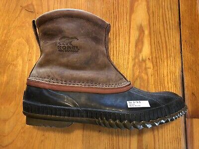 49a95a66032 SOREL SLIP-ON HUNTING Duck Boots Mens Size 11-N Waterproof ...