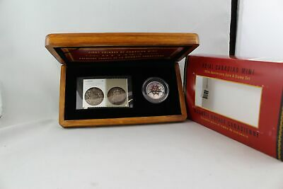 Canada 2008 50 Cent 100th Anniversary of the Mint Coin & Stamp Set